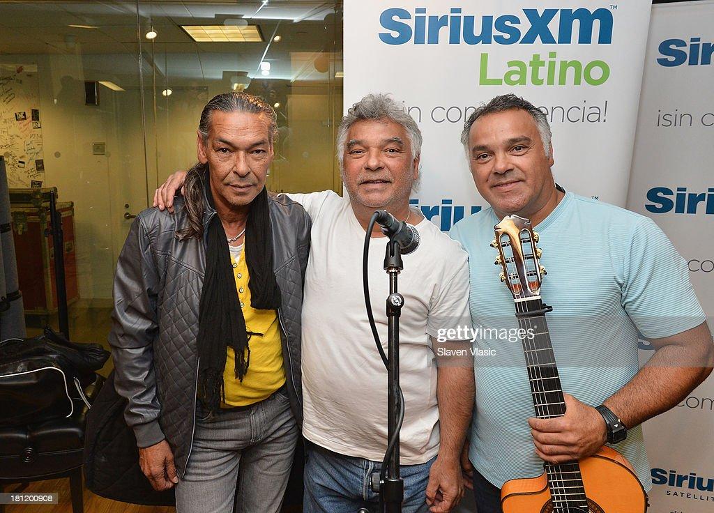 Celebrities Visit SiriusXM Studios - September 19, 2013 : News Photo