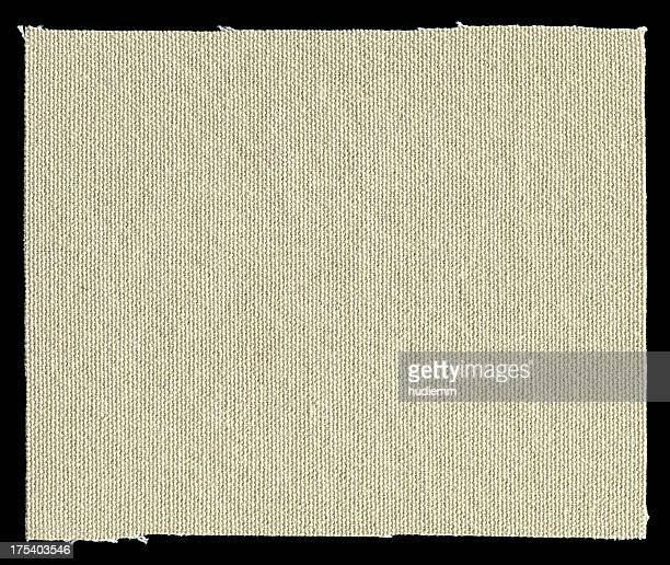 Canvas patch textured background isolated