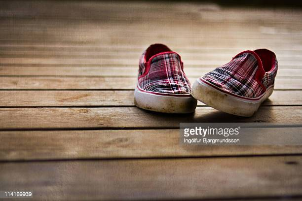 canvas shoes - pair stock pictures, royalty-free photos & images