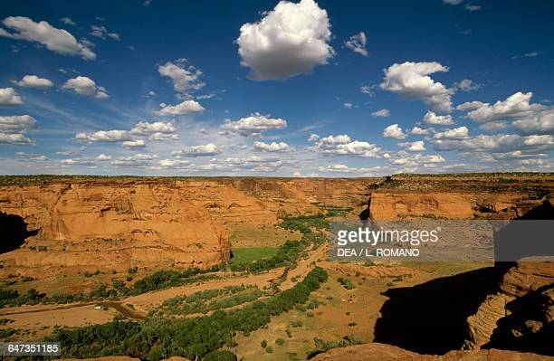 Canyon de Chelly Monument Navajo Indian Reservation Arizona United States of America
