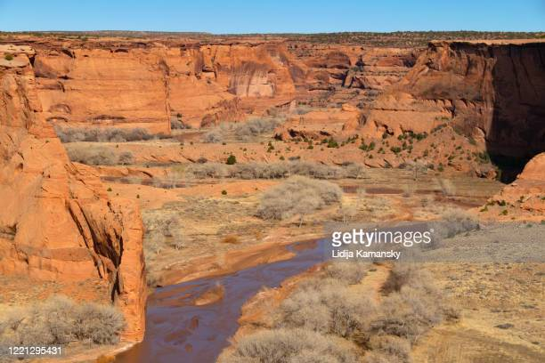 canyon de chelly - canyon de chelly national monument stock pictures, royalty-free photos & images