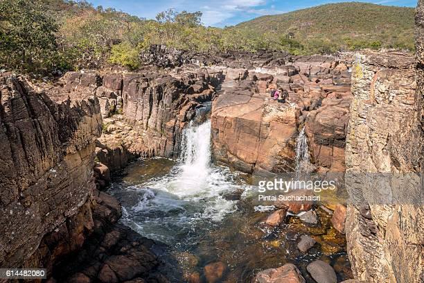 Canyon in Chapada dos Veadeiros National Park, Brazil