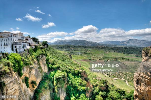 Canyon (El Tajo) of Ronda, Spain