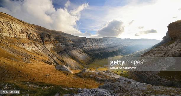 Canyon panorama, Ordesa valley, Pyrenees