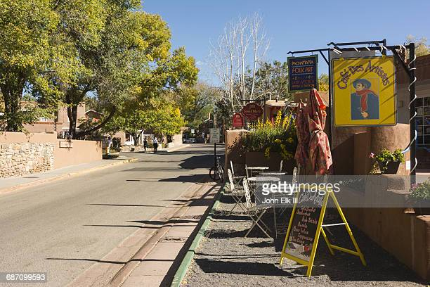 Canyon Road art district in Santa Fe