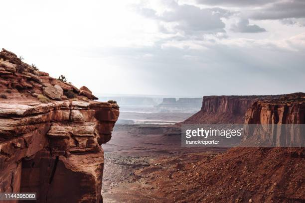 canyonlands national park - canyon stock pictures, royalty-free photos & images