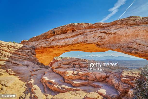 canyonlands national park utah,usa - mesa arch stock pictures, royalty-free photos & images