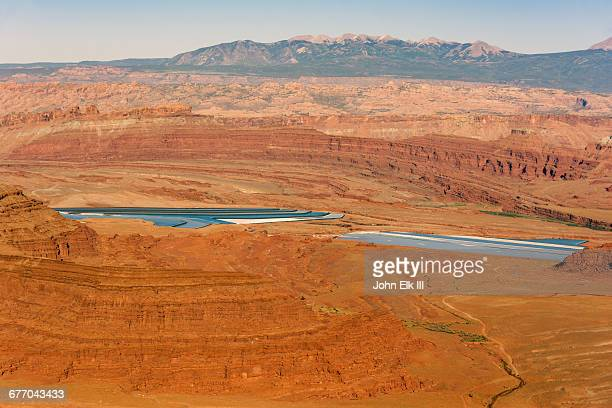 canyonlands np from dead horse point sp - dead horse point state park stock pictures, royalty-free photos & images