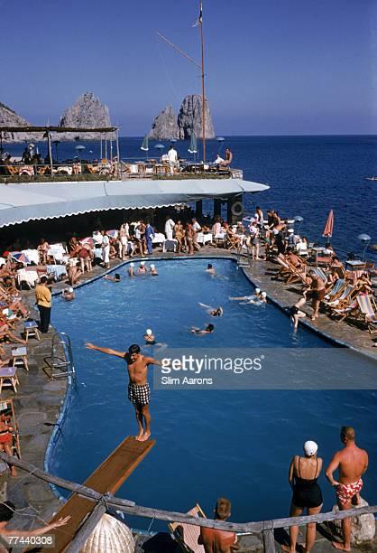 Canzone del Mare at the Marina Piccola Capri Italy 1954