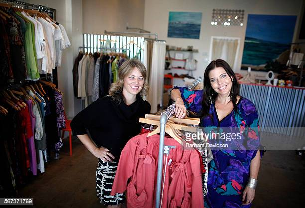 The Give Take Swap boutique owners Celine Amaya and Rachel Lincoln Sarnoff allows members to swap clothing for credit that allows them to buy or...