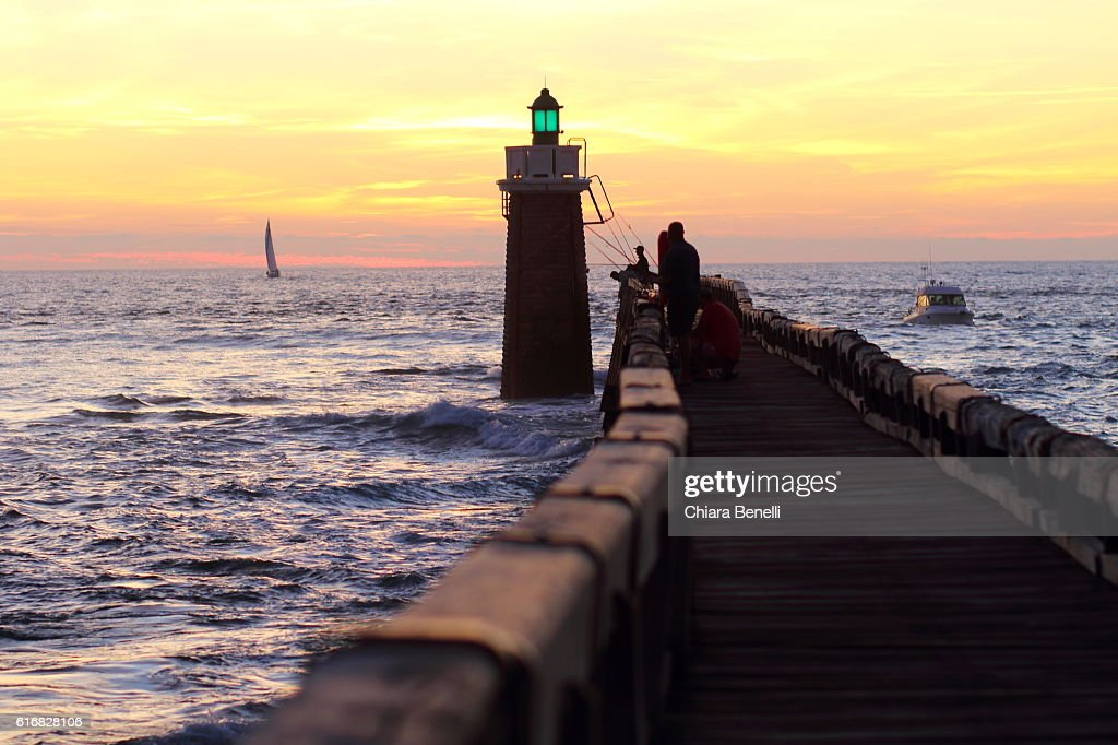 Cap Breton Lighthouse : Stock Photo