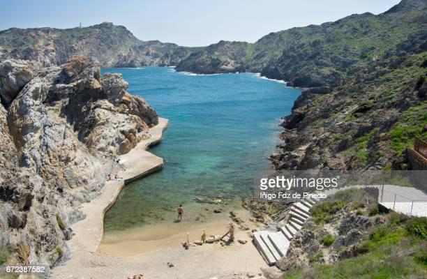 cap de creus-cadaqués- alt empordà comarca- girona- catalonia- spain - provincia de gerona fotografías e imágenes de stock