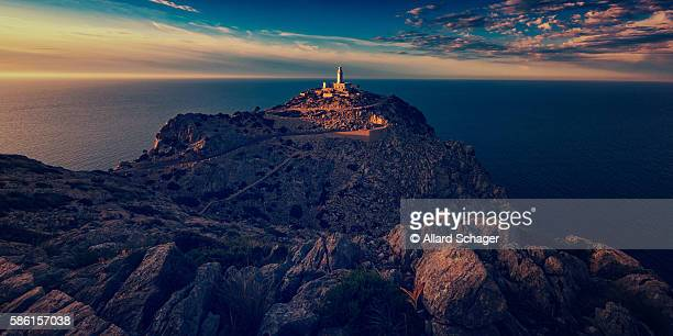 Cap Formentor Mallorca at Sunset