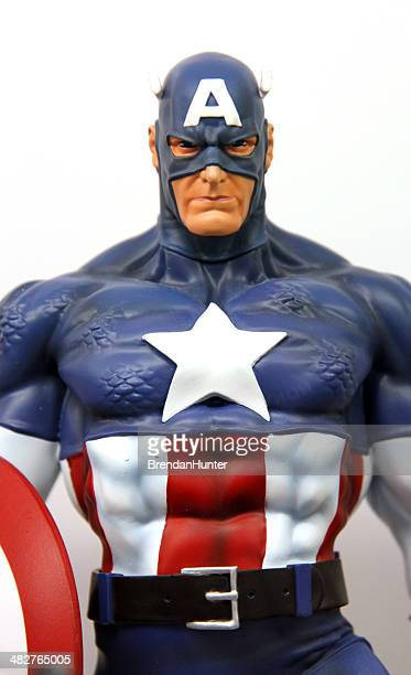 cap - marvel comics stock pictures, royalty-free photos & images