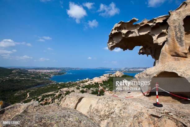 Capa DOrso rock formation, Sardinia, Italy