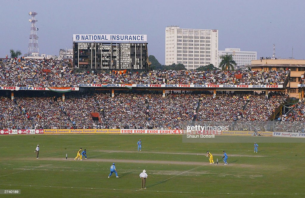 Eden Gardens : News Photo