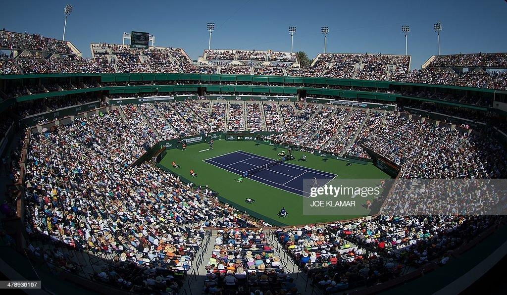 TEN-WTA-BNP-PARIBAS-OPEN : News Photo