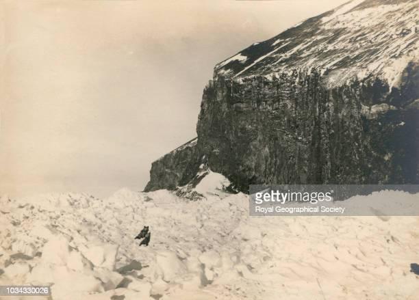 Cape Adare Antarctica circa 1900 British Antarctic Expedition 18981900