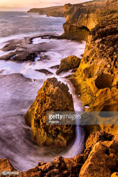 cape bauer at eyre peninsula, south australia - kangaroo island stock pictures, royalty-free photos & images