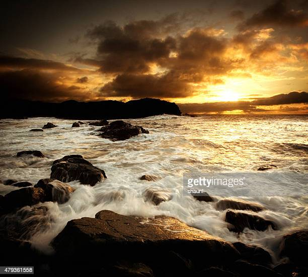 Cape Breton Coastline Sunset