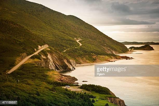 cape breton, nova scotia - cape breton island stock pictures, royalty-free photos & images