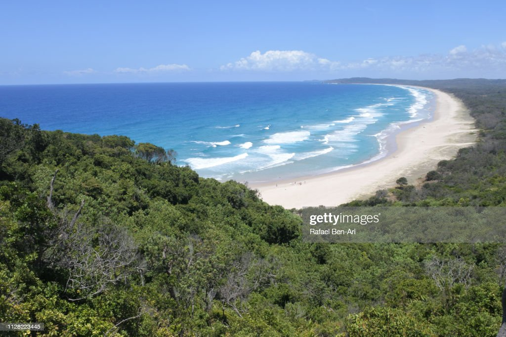 Cape Byron Beach in New South Wales Australia : Stock Photo