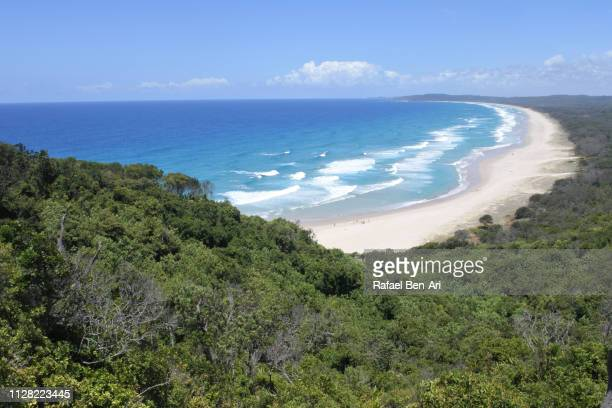 cape byron beach in new south wales australia - rafael ben ari stock pictures, royalty-free photos & images