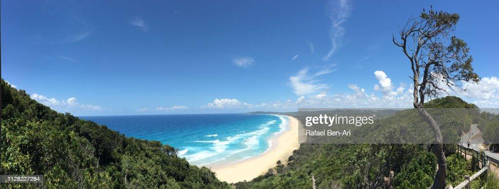 Cape Byron Beach New South Wales Australia : Stock Photo