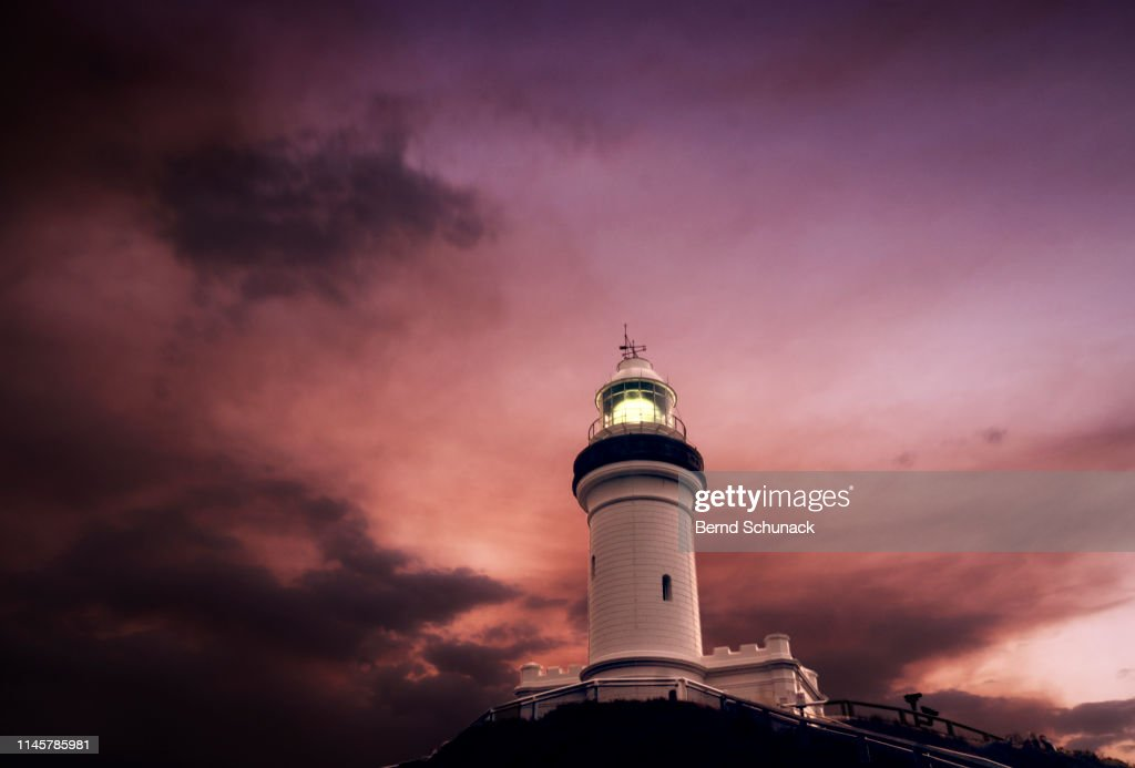 Cape Byron Lighthouse : Stock Photo