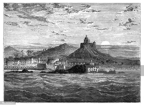 Cape Coast Castle Gold Coast West Africa c1890 The Castle was originally built for the trade in timber and gold and was later used in the...