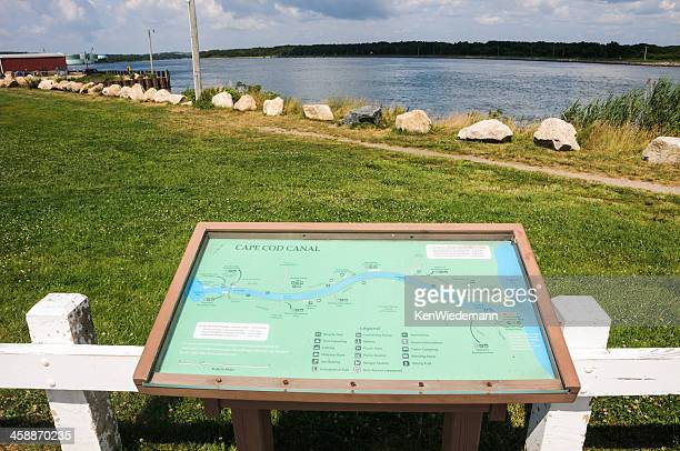Cape Cod Canal Map