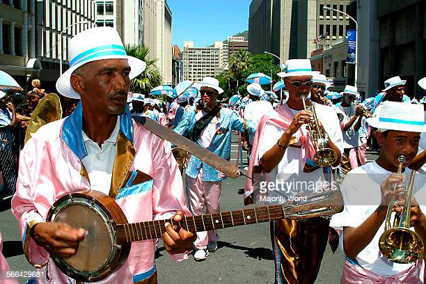 Cape Coon Carnival Cape Minstrels Festival Cape Minstrels Cape Town festival held over the New Year through the streets of Cape Town Malay culture...