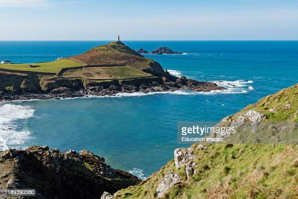 cape cornwall st just pendeen cornwall England Britain UK