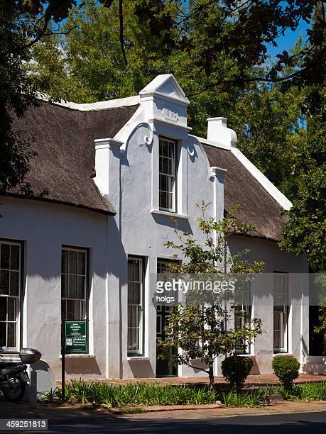 Cape Dutch Building in Stellenbosch, South Africa