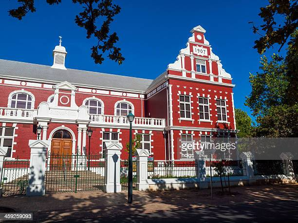 Cape Dutch colonial style building, Stellenbosch, South Africa