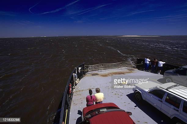 cape fear river ferry, southport - southport north carolina ストックフォトと画像