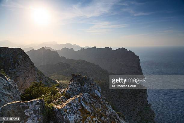 Cape Formentor at sunset