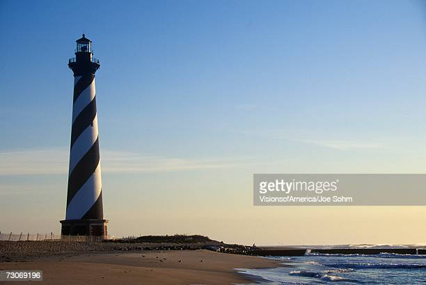 'Cape Hatteras Lighthouse at Cape Hatteras National Seashore, NC'