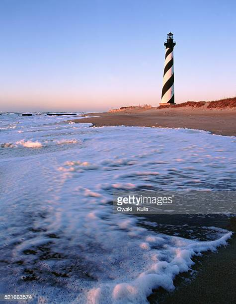 cape hatteras lighthouse - buxton, nc - cape hatteras stock pictures, royalty-free photos & images