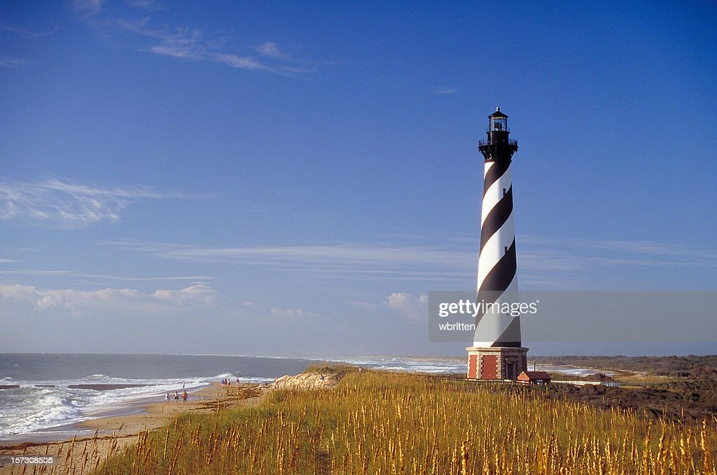 Cape Hatteras Lighthouse : Stock Photo