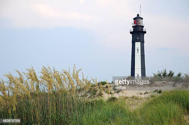 cape henry lighthouse - chesapeake bay stock pictures, royalty-free photos & images