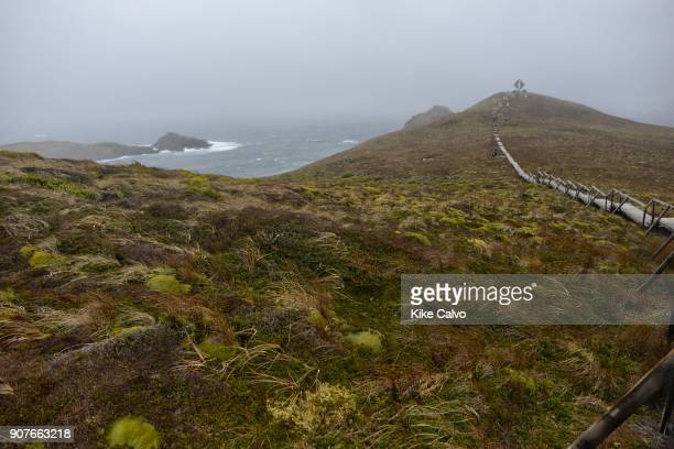 Cape Horn the southernmost headland of the Tierra del Fuego archipelago of southern Chile
