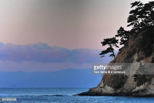 Cape Inamuragasaki in the morning