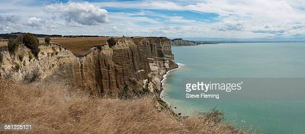 Cape Kidnappers panoramic, New Zealand