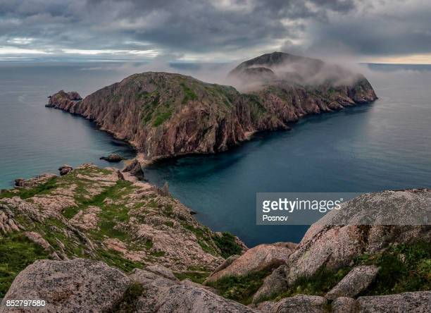 cape la hune - newfoundland and labrador stock pictures, royalty-free photos & images