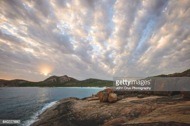 cape le grand sunset - national park stock pictures, royalty-free photos & images