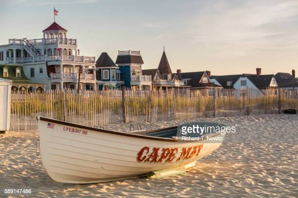 cape may beach ave - new jersey stock pictures, royalty-free photos & images
