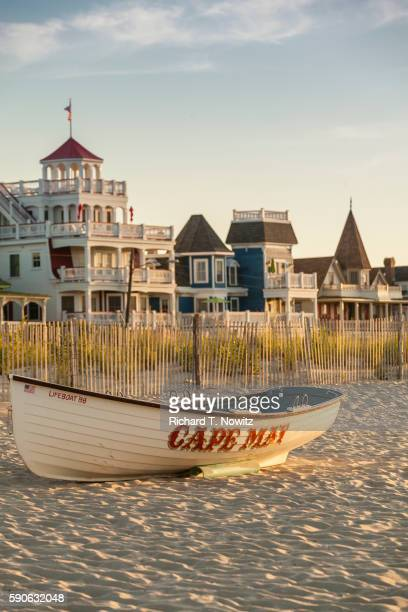 cape may beach ave - cape may stock pictures, royalty-free photos & images
