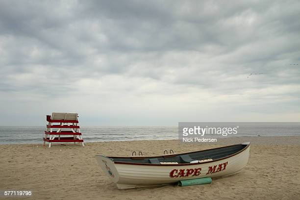 cape may beach in new jersey - cape may stock pictures, royalty-free photos & images