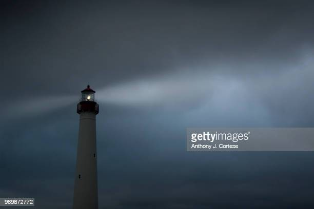 cape may lighthouse - cape may stock pictures, royalty-free photos & images